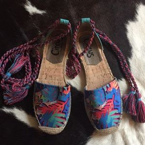 Circus by Sam Edelman Lenora lace up espadrilles
